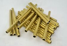 6mm x 100mm x 0.5 Wall Brass Tube for Model/KnifeMaking Handles Scales Lanyard