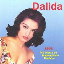 377 // DALIDA 1956 LES DEBUTS DE MADEMOISELLE BAMBINO CD NEUF
