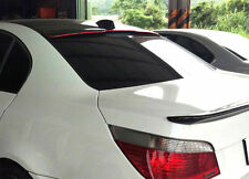 color BLACK & RED LINE for BMW E60 M5 Trunk Spoiler & A Roof Spoiler 550i BOOT