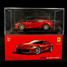 Ferrari 812 Superfast Rouge Signature 1/43 Bburago 36908