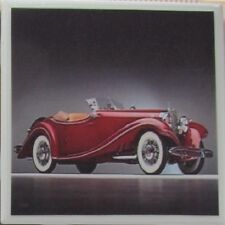 New listing Handmade Stone Ceramic Tile Marble Drink Coaster -Set of 4-Classic Automobile 3D