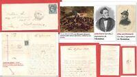 """Lettre Guerre 1870-71: ARMISTICE du 10/02/1871: rare """"sens Paris-Province"""""""