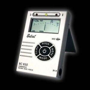 Belcat Digital Chromatic Tuner for Guitar Bass Violin