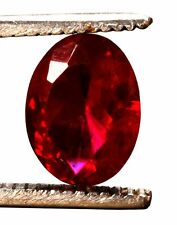 11.55 Cts. Natural Mozambique Red Ruby Oval Shape Certified Gemstone