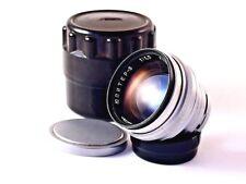 Soviet lens JUPITER - 3  Red P  f 1,5/50mm Mount Contax Copiy Sonnar.