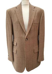 EDE & RAVENSCROFT Signature Men's Gents 40 Tweed Blazer Jacket Tailored Designer