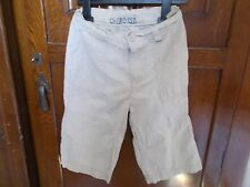 Cherokee beige cotton shorts age 6-7.Never worn so brand new.