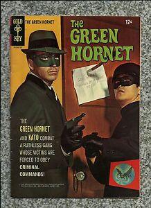 GREEN HORNET #1 1966 GOLD KEY BRUCE LEE PHOTO COVER  TV COMIC BOOK