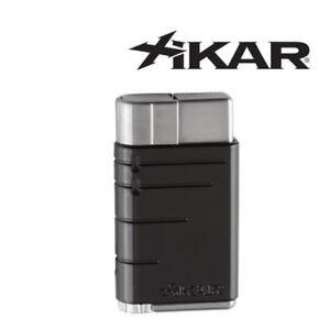 NEW Xikar - Linea -  Single Jet Flame Lighter - Black