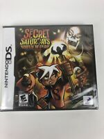 Secret Saturdays: Beasts of the 5th Sun (Nintendo DS, 2009) Brand New