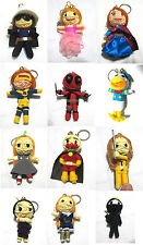 Voodoo String Doll Charter Movie Keychain Ornament Accessory Gift # Set 11