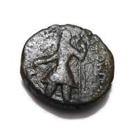 INDIA  - KUSHAN -Kushan Dynasty - Copper Tetradrachm - COPPER  COIN - 17.01gm