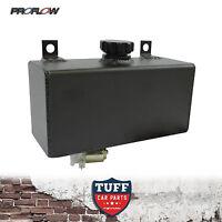 Proflow Black Horizontal Windscreen Washer Tank Reservoir with 12V Motor New