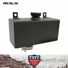 Proflow Black Horizontal Windscreen Washer Tank Reservoir with 12V Motor New