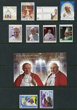 Vatican City 2014 Complete Year Set NH - Scott 1551-1581