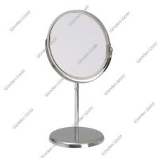 Free Standing MIRROR MAGNIFYING BATHROOM COSMETIC SHAVING MIRROR MAKEUP Round