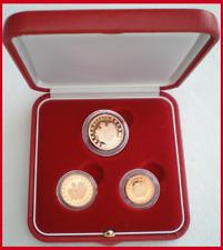 *** Coffret Officiel Monaco 2005 Qualité Belle Epreuve 1 , 2 et 5 cent Rare ***