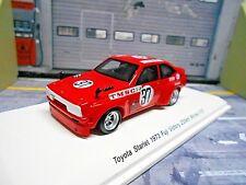 TOYOTA Starlet Tourenwagen Gr.5 1973 #37 Kukitome Winner Spark SP Reve 1:43