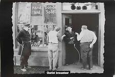 Chaplin Mania tiré du Fascicule n°16- Planche de Collection Charlot brocanteur