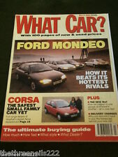 WHAT CAR? - VAUXHALL CORSA - MARCH 1993