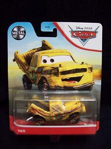 Disney Pixar Cars Metal Taco.
