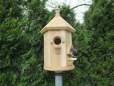 Red Cedar Double Bird House