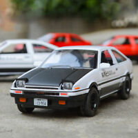 1:28 Initial D Toyota TRUENO AE86 Diecast Model Car Toy Sound&Light Gift