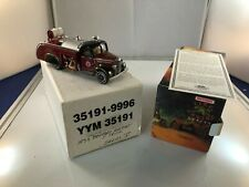 Matchbox MOY Fire Engine Series-1938 Bedford Airport Tank Truck- YYM-35191