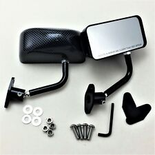 F3 racing side mirror BLACK CARBON SHEET DIPPING FOR Civic INTEGRA S2000 Accord