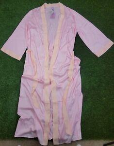 Womens Savage X Fenty Robe Pink Satin Size XL