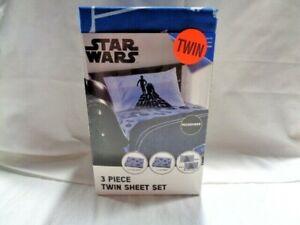 Star Wars TWIN Microfiber 3 Piece Sheet Set