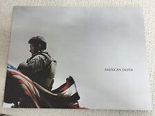 AMERICAN SNIPER Academy Awards 2015 Japan PROGRAM pressbook Bradley Cooper RARE!