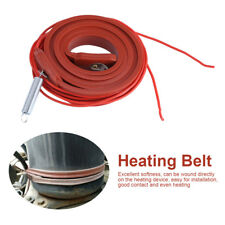 Silicone Rubber 80W 220V Heater Strip Pipe Motor Wine Beer Brew Heating Belt JS