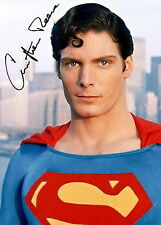 182948 CHRISTOPHER REEVE SUPERMAN Signed Decor WALL PRINT POSTER FR