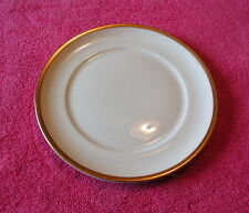 """Pope Gosser Coin Gold no Verge (De Luxe) 6 1/8"""" BREAD PLATE(s) (15 avail)"""