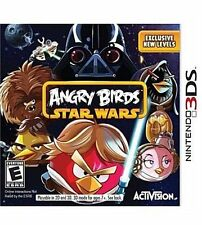 BRAND NEW SEALED 3DS Angry Birds Star Wars NINTENDO 3DS VIDEO GAME