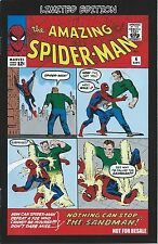 AMAZING SPIDERMAN 4 RARE MINI COMIC GIVEAWAY PROMO VARIANT 2ND PRINT DVD NM