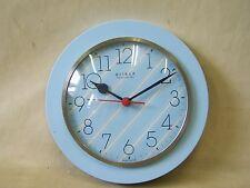 Hermosas viejas reloj de cocina, culto retro Design 70er años RDA reloj
