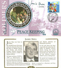 More details for 5 october 1999 soldiers tale benham fdc signed by jamie shay nato policy maker