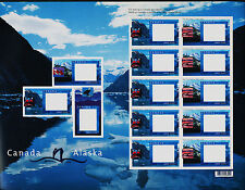 Canada 1991C-D Sheet MNH Canada-Alaska Cruise Picture Postage