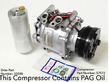 A/C Compressor Honda Civic 1992-1993 ; Honda Civic Del Sol 1993 - Reman