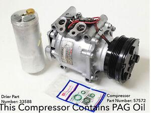 A/C Compressor Honda Civic 1992-1993 ; Honda Civic Del Sol 1993 - Reman