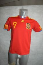 MAILLOT FOOT EQUIPE ESPAGNE TORRES 9 FOOTBALL T 13/14 ANS  SPAIN/ESPANA JERSEY