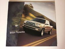 2001 Toyota Tundra Pickup Truck Dealership Showroom Sales Brochure - Must See!!