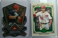 Bryce Harper 2013 Topps Museum Green Parallel Nationals 51/199 + TOPPS CHROME
