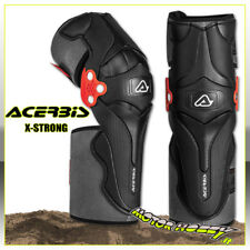 GINOCCHIERE OFF ROAD ACERBIS X-STRONG KNEE GUARD 2.0 CROSS ENDURO ATV NERO