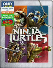 Teenage Mutant Ninja Turtles (Blu-ray/DVD, 2014, Includes Digital Copy Steelbook