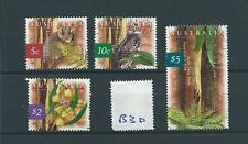 wbc. - AUSTRALIA - B30 - 1996 - FLORA & FAUNA   - set of four -  used