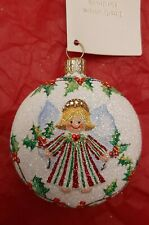 New ListingPatricia Breen Littlest Angel Medallion Holly store exclusive glittered