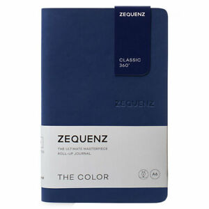 Zequenz Classic 360 Notebook - The Color A6, Ruled, Dark Navy   360-TCJ-MINI-DNR